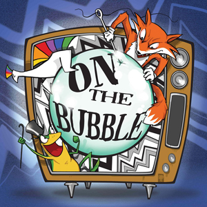 On The Bubble Podcast Album Art